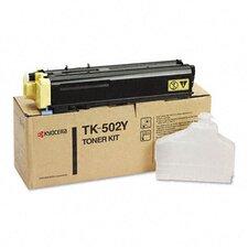 TK502Y Toner Cartridge, 8,000 Page Yield, Yellow