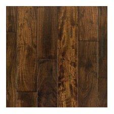 "Kensington 4-3/4"" Engineered Acacia Hardwood Flooring in African Black Walnut"