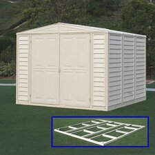 DuraMate 8 Ft. W x 5.5 Ft. D Vinyl Storage Shed