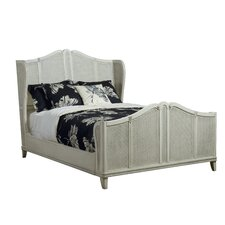 Avery Wingback Panel Bed