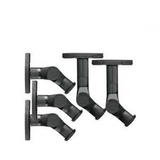 Pack of 5 Tilt and Swivel Wall Mount for Satellite Speakers