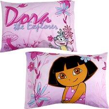Nickelodeon Dora the Explorer Playful Garden Pillowcase