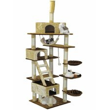 "108"" Condo House Cat Tree"