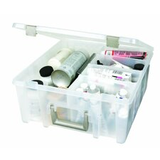Super Satchel Double Deep in Translucent with Removable Divided