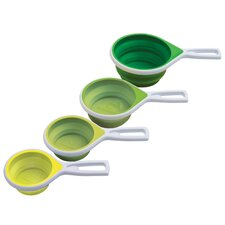 Vibe 4 Piece Collapsible Measuring Cup Set (Set of 4)