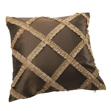 Royal Vintage Embroidered Diamond Design Decorative Pillow Cover