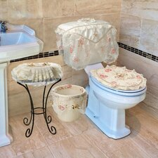 Eden Lace 4 Piece Bathroom Set