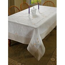 Espirit Embroidered Floral Tablecloth