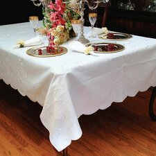 Dublin Embroidered Oblong / Rectangle Tablecloth
