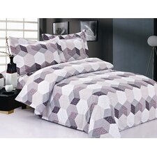 French Hexagons Luxurious Duvet Set