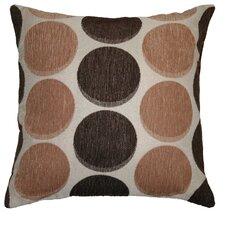 Deluxe Chenille Jacquard Circle's Decorative Pillow Cover