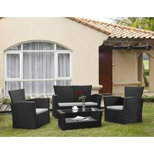 Kennebunk 4 Piece Seating Group with Cushions