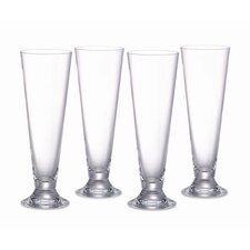 Vintage Pilsner Glasses (Set of 4)