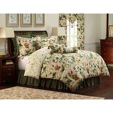 Colonial Williamsburg Garden Image Cotton Lumbar Pillow