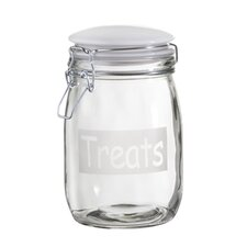 "Pet ""Treats"" Jar (Set of 2)"