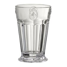 Fleur De Lis Hiball Glass (Set of 6)
