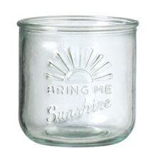 Sunshine Glass Votive (Set of 4)
