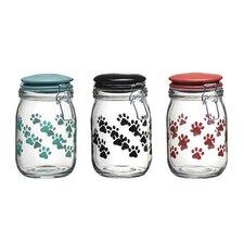 Pet Paw 36-Quart Milan Hermetic Preserving Jar