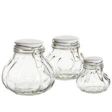 Meloni 3-Piece Jar Set
