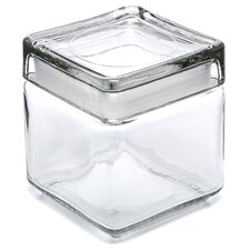 Stackable Square Jar (Set of 4)