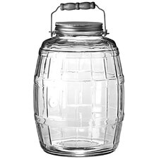 2.5-Gallon Barrel Jar