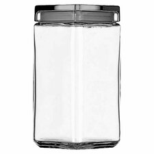 64-Ounce Stackable Glass Jar