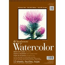 400 Series Cold Press Wire Bound Watercolor Pad (Set of 12)
