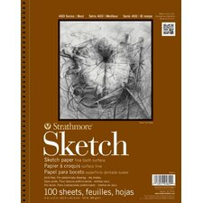400 Series Wire Bound Sketch Pads (Set of 12)