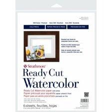 500 Series Hot Press Ready Cut Watercolor Sheet Pack