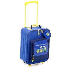 "Going to Grandma's 15.5"" Children's Rolling Upright Suitcase"
