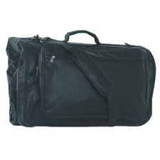 Highland II Series Tri-Fold Black Garment Bag