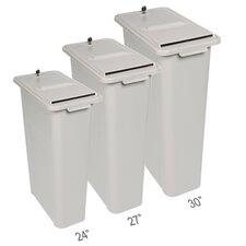 Consumables 3 Piece HSM Shredinator Industrial Recycling Bin set