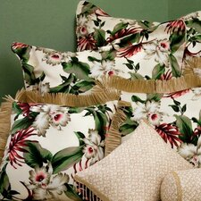 Orchids Natural Tailored Sham