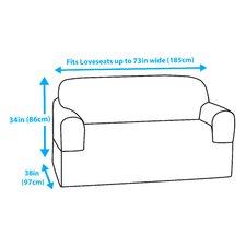 T-Cushion Loveseat/Sofa Slipcover