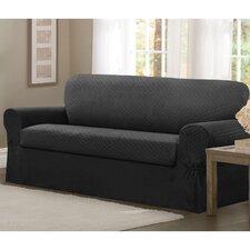 Conrad Stretch 2 Piece Sofa T-Cushion Slipcover Set