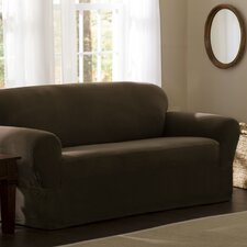 Reeves Stretch One Piece Sofa Slipcover