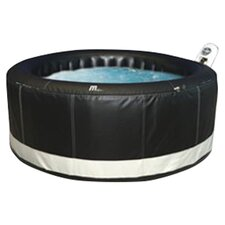 4 Person 110 Jet Inflatable Bubble Spa