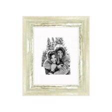 """11"""" x 14"""" Frame in Ivory and Moss Silver"""