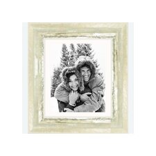 """8"""" x 10"""" Frame in Ivory and Moss Silver"""
