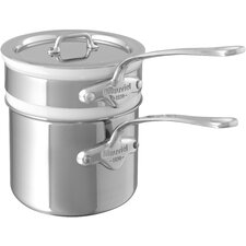 M'cook 0.9-qt. Double Boiler with Lid