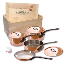 M'Heritage Copper 7-Piece Cookware Set