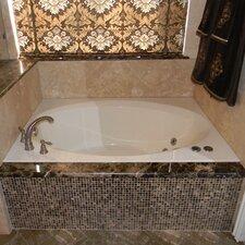 "60"" x 42"" Rectangular Deck Soaker Bathtub"