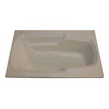 "60"" x 36"" Soaker Arm-Rest Bathtub"