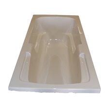 "60"" x 32"" Soaker Arm-Rest Bathtub"