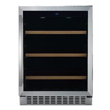 6 Bottle Single Zone Built-In Wine Refrigerator