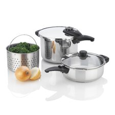 Innova 2 Piece Pressure Cooker Set