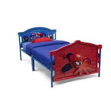 Marvel Spider-Man 3-D Twin Bed