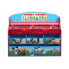 Mickey Deluxe Book & Toy Organizer