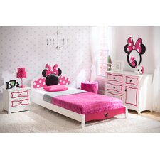 Disney Minnie Mouse Panel 4 Piece Bedroom Set