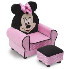 Minnie Mouse Kids Club Chair & Ottoman